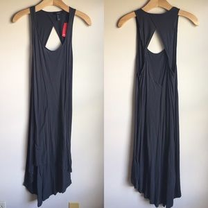 Forever 21 Gray Tank Top Dress NWT Small